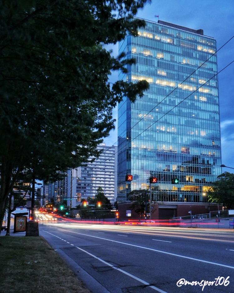 Vancouver night shot